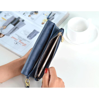 Double Zipper Wallet 2