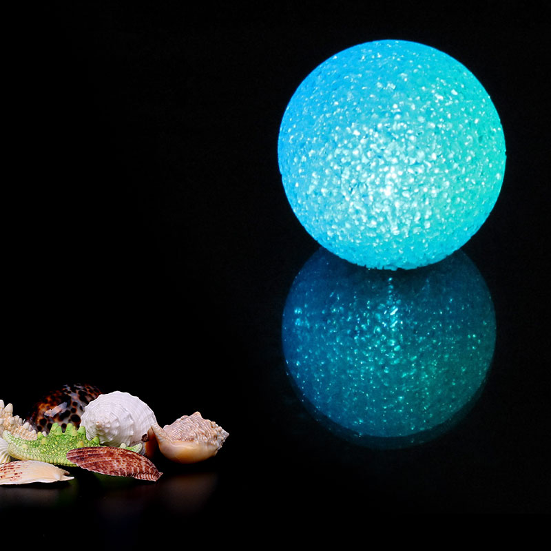 Mabor Decoration NightLight Crystal Ball LED Battery Power Night Light Plastic Romance Gift