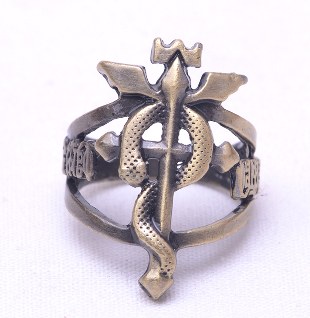 Аниме кольцо Стальной алхимик 18 мм 1