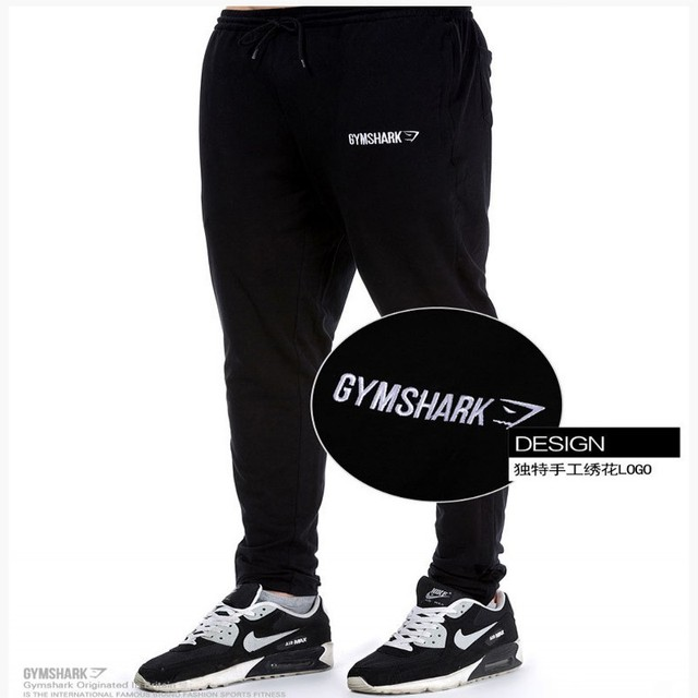 2016 New Brand Clothing Man Pants Casual Skinny Trousers Bodybuilding GymShark Pants Men Joggers Cotton Elastic Sweatpants