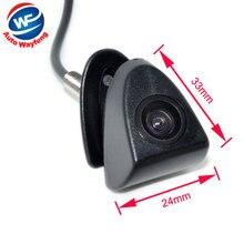 CCD Car Front View Logo Embeded Camera For Toyota Prado High