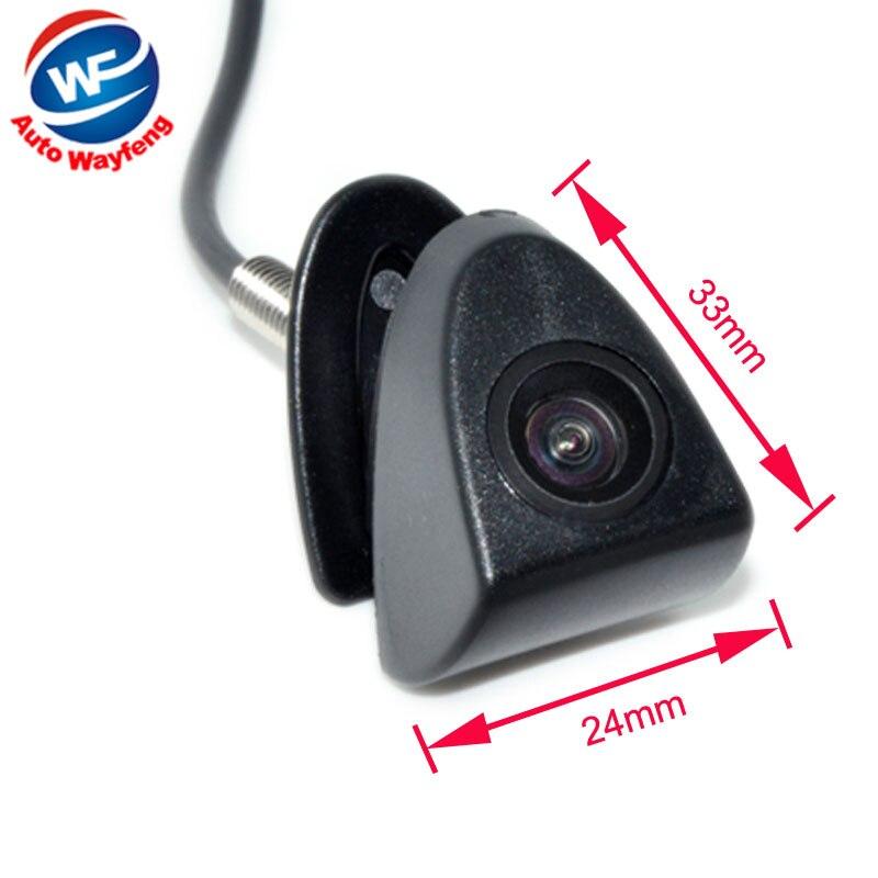 CCD Автомобильная фронтальная камера с логотипом для Toyota Prado Highlander Land Cruis Camry Corolla Yaris visi REIZ Verso