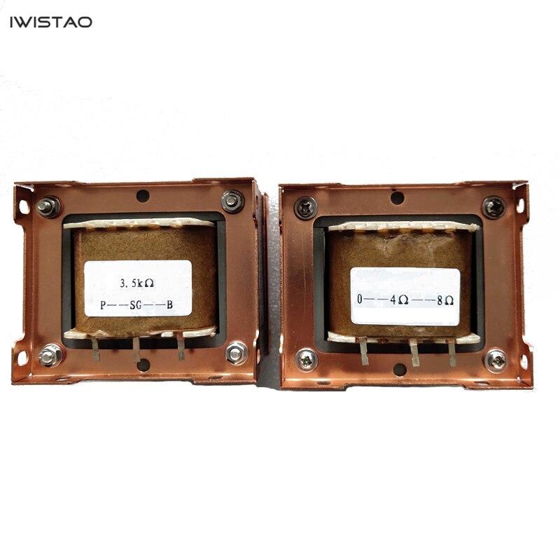 IWISTAO ламповый усилитель 15 Вт выходной трансформатор 1 пара Z11 одноконцевая Кремниевая сталь 3,5 K Ультра линейный Британский кронштейн DIY