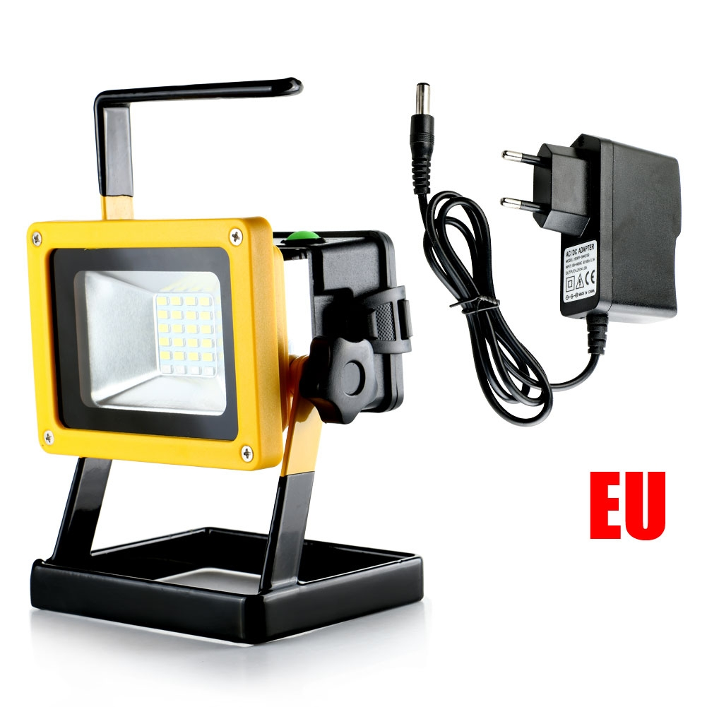 30W Rechargeable Portable Lamp Floodlights Work Light Colorful +White Light Powerful Outdoor emergency LED Lighting for camping led light work light light power - title=