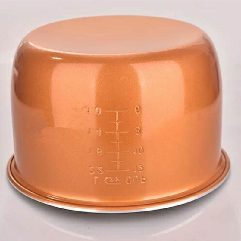 2L 3L 4L 5L 6L latest technology gold rice cooker pot aluminum alloy tank for intelligent rice cookers