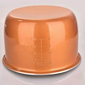 Image 2 - 2L 3L 4L 5L 6L mais recente tecnologia de ouro tanque de liga de alumínio para panelas de arroz inteligente panela de arroz pote tigela tanque