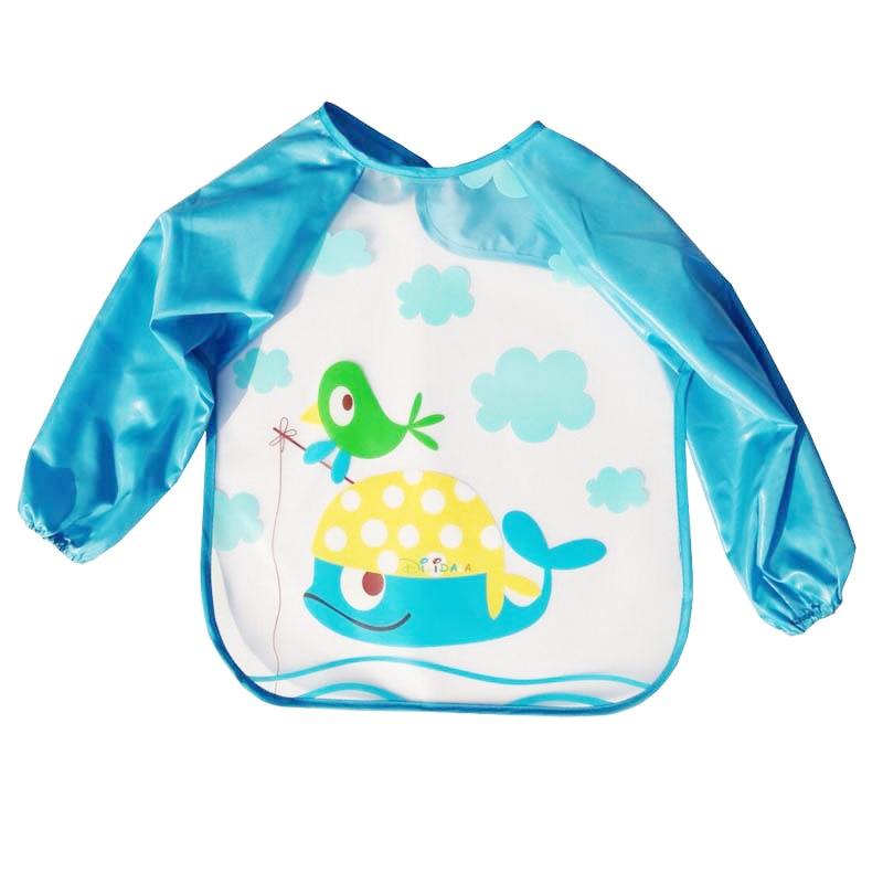Nieuw Slabbers Waterdicht Lange mouw slabbetje Speeksel Slabbetje - Babykleding - Foto 4