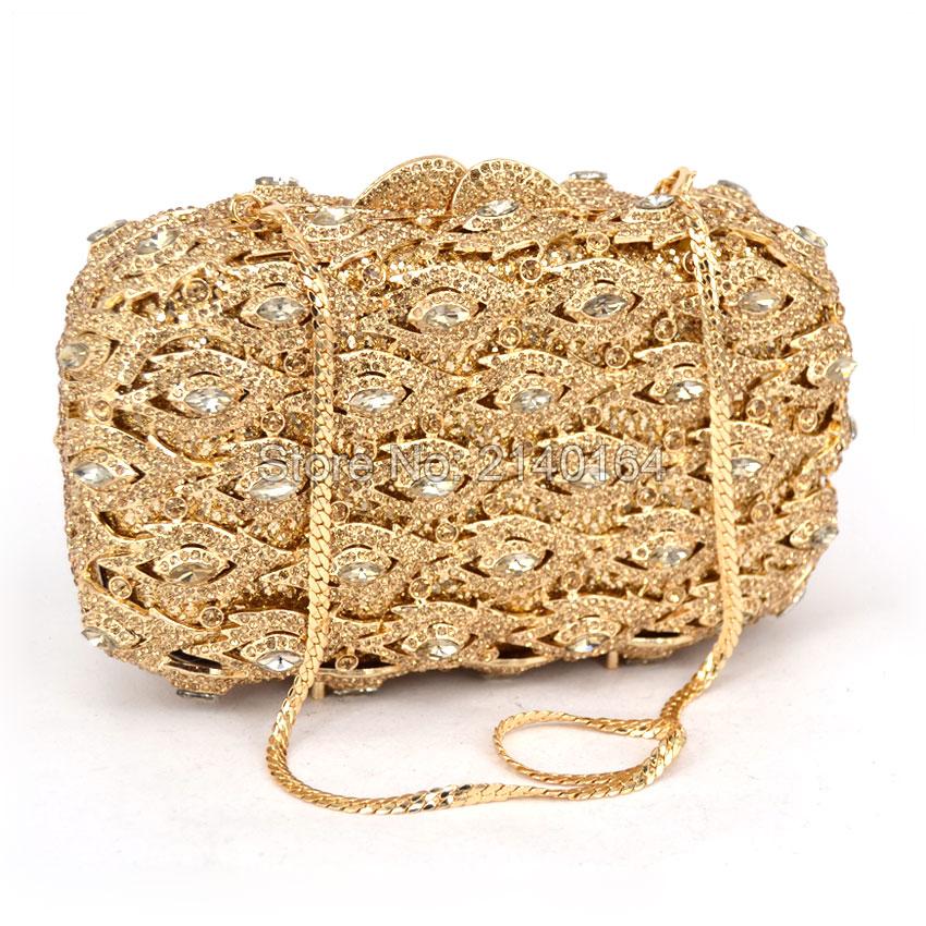 ФОТО Glasses Bling Bling Women Evening Bag Finger Ring Diamonds Day Clutches Purse Evening Bag Rhinestones Crystal Purse Gold eye 524
