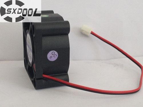 SXDOOL EC4020SH12EA 40*40*20 mm 4020 12V 0.14A small dc brushless axial cooling fan
