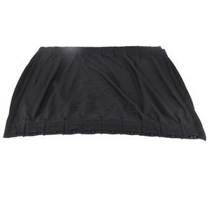 70Л 70*50 см занавес для окна автомобиля солнцезащитный занавес Солнцезащитная боковая шторка для лобового стекла черная ткань Универсальная ...