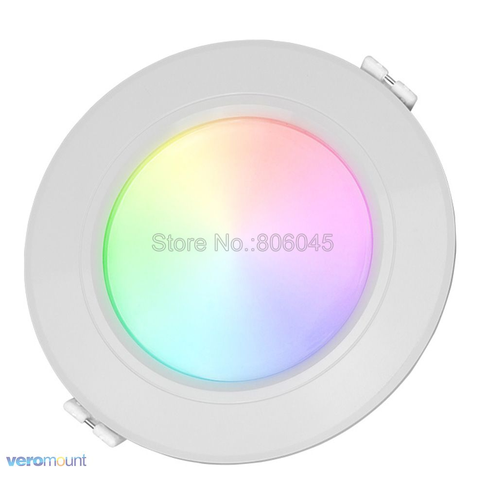 FUT068 AC85-265V Milight 2.4G 6W RGB + CCT WiFi Compatible Smart LED - Iluminación LED - foto 4