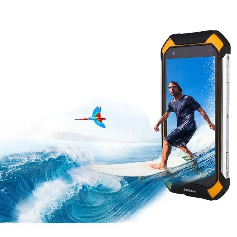 Android 5.1 Étanche GPS Smartphone 2 GB + 16 GB 4.5 Pouces Antichoc IP68 Quad Core Mobile Téléphone Guophone V19