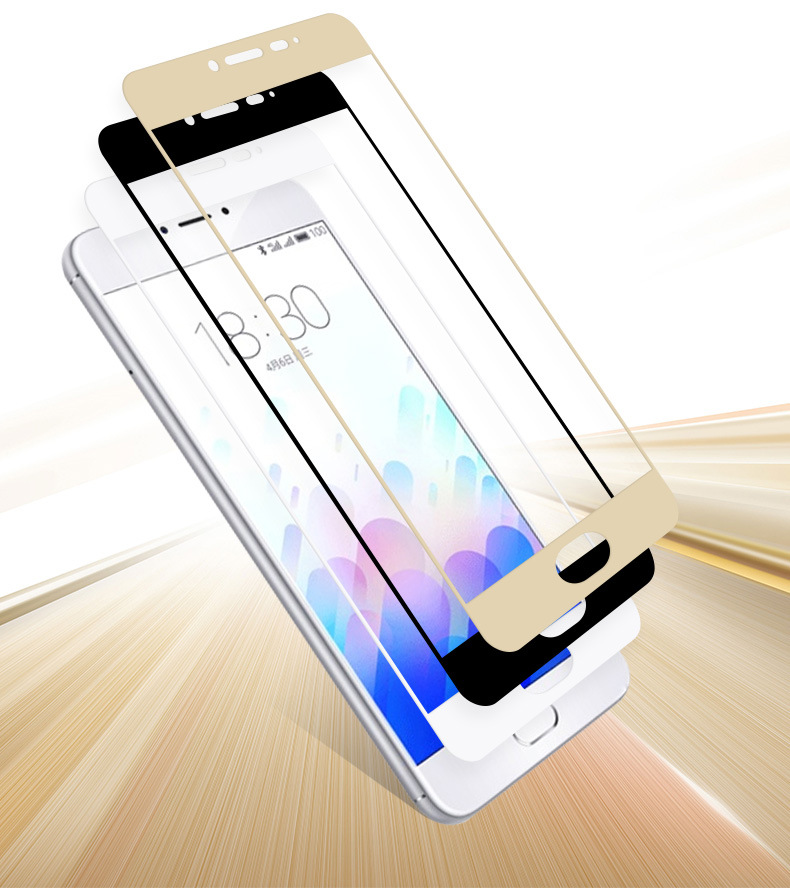 VSKEY 100pcs 2 5D Full Cover Tempered Glass For Xiaomi Mi 6 8 5s Plus 5C