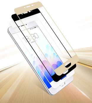 VSKEY 100pcs 2.5D Full Cover Tempered Glass For Xiaomi Mi 6 8 5s Plus 5C 5X 6X A1 A2 Screen Protector Edge Glue Protective Film