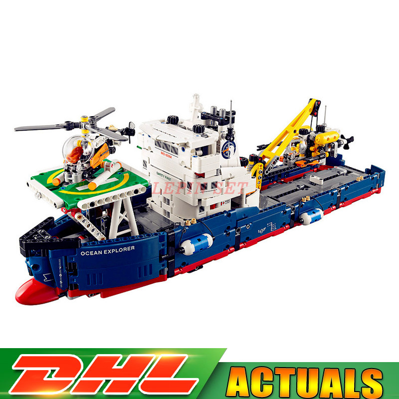 IN STOCK DHL 20034 1347pcs Genuine New Technic Series The Searching Ship Set Building Blocks Bricks Lepin Toys MOC 42064 concept driven 2sc0435t 2sc0435t2a0 17 new stock