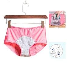 Leak Proof Menstrual Period Panties Physiological Pants  Cotton Health Seamless Briefs High Waist Warm Women Underwear REMITT