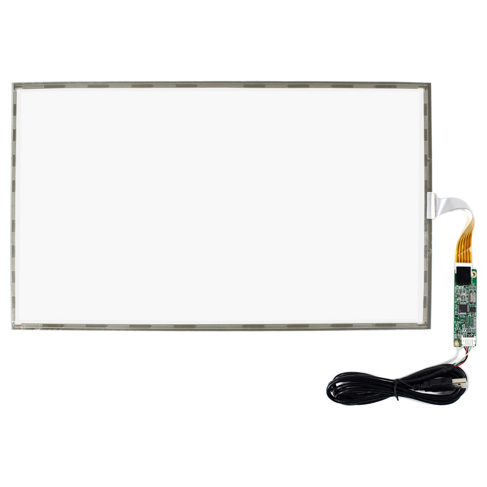 15.6inch 5 Wire Resistive Touch Panel USB Controller for 1366x768 15.6inch 16:9 LCD 14 1inch resistive touch screen for 14 1inch 1366x768 lcd panel usb controller