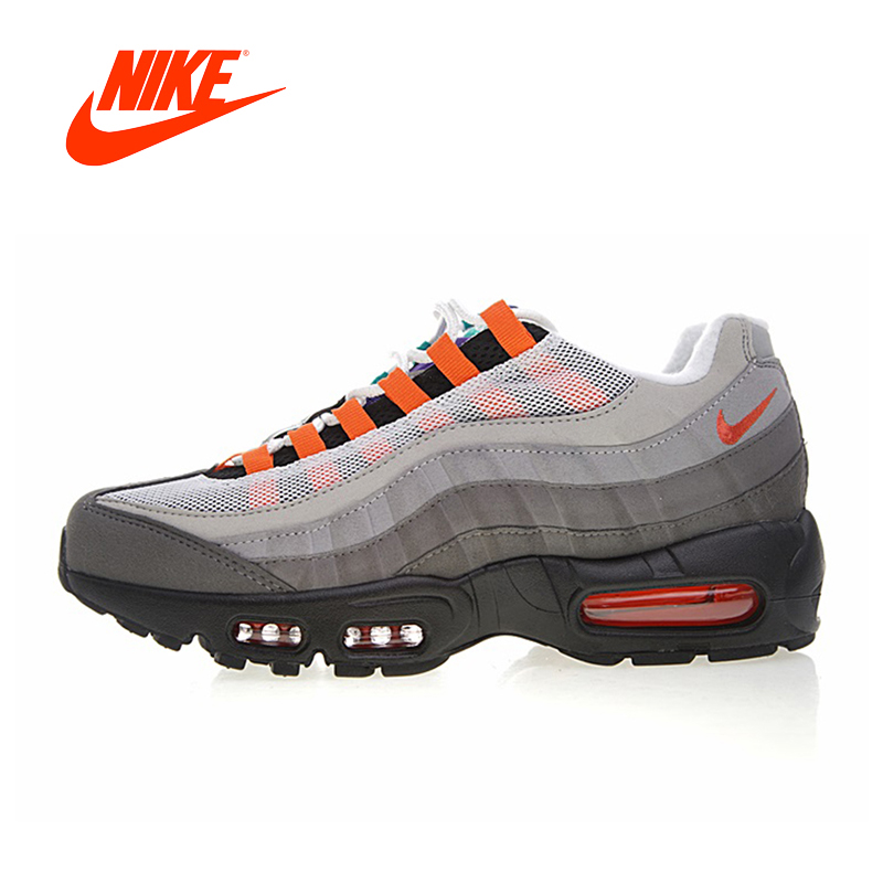 on sale 5439e 74e88 Original New Arrival Authentic NIKE AIR MAX 95 OG QS Men s Running Shoes  Sport Outdoor Sneakers