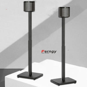 Speaker Base Display-Stand Round-Column Adjustable SF08 Q90R Sonos Floor 1-Pair--2pcs