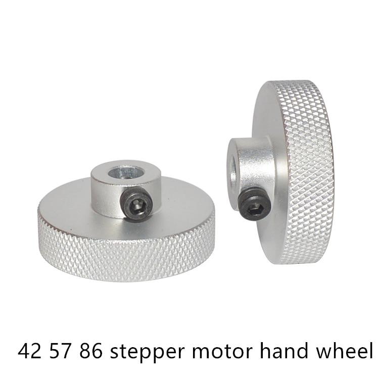 Nema17 Hand Wheel Nema34 Nema23 Stepper Motor   5mm 6.35mm 8mm 14mm Diy Engraving Machine Part