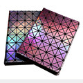 Luxo colorful bling diamante laser flip fique leather case smart cover para ipad mini 1/2/3 retina 4 ipad 2 3 4 air 1 2 Shell