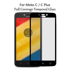 VoonGson For Motorola Moto C Plus Glass Screen Protector Full Film Tempered Glass For Moto C Plus TV XT1726 Display Cover C+ аккумулятор для телефона ibatt hc60 для motorola moto c plus xt1723 moto c plus dual sim