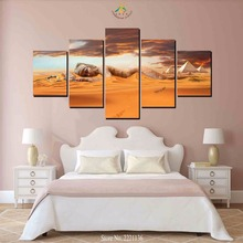 3-4-5 Pieces Sleeping Egyp Girl  Modern Wall Art Canvas Printed Painting HD Prints Modular Poster Pictures for Home Decor
