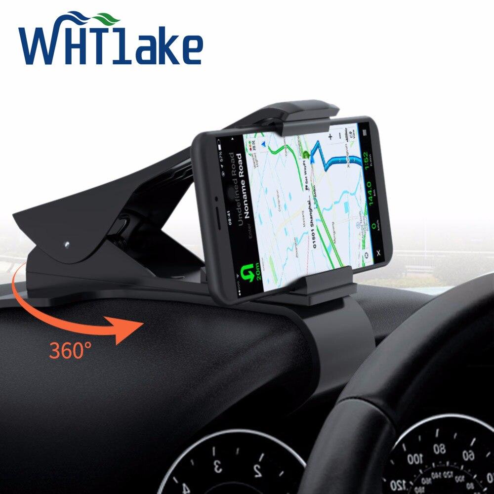 HuaTLake Universal Car Phone Holder HUD Dashboard Mount