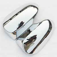 ABS chrome design accessories side mirror cover cap trim 2pcs For Toyota Corolla Camry 2012 2013 2014