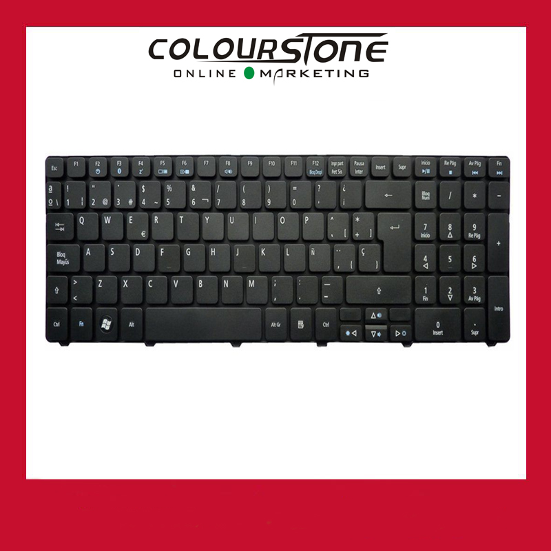 AR laptop keyboard for Acer 5810 5810T 5738 5536 5542 5542G 5410T Black color 10 pcs /lot fr french laptop replacement keyboard for acer as5810t 5410t 5536 5536g 5738 black