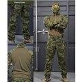 6 colores! camisa + pantalones uniformes multicam uniforme Táctico militar Airsoft Paintball SWAT Policía Caza Traje de Entrenamiento Del Ejército