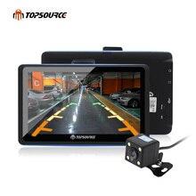 """7 """"de Navegação GPS Do Carro Portátil FM Construído em 8 GB/256 M WinCE 6.0 Mapa mais recente Para Navitel/europa/EUA Caminhão veículo gps Navigator"""