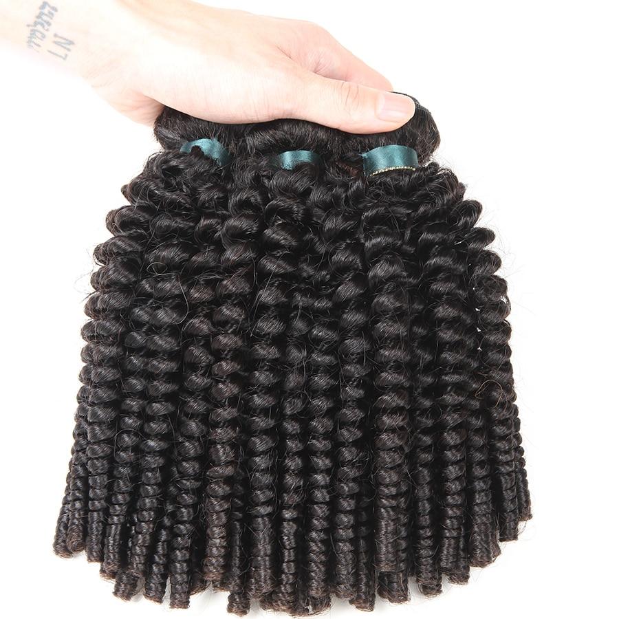 3 pacotes negócio cor natural cabelo brasileiro