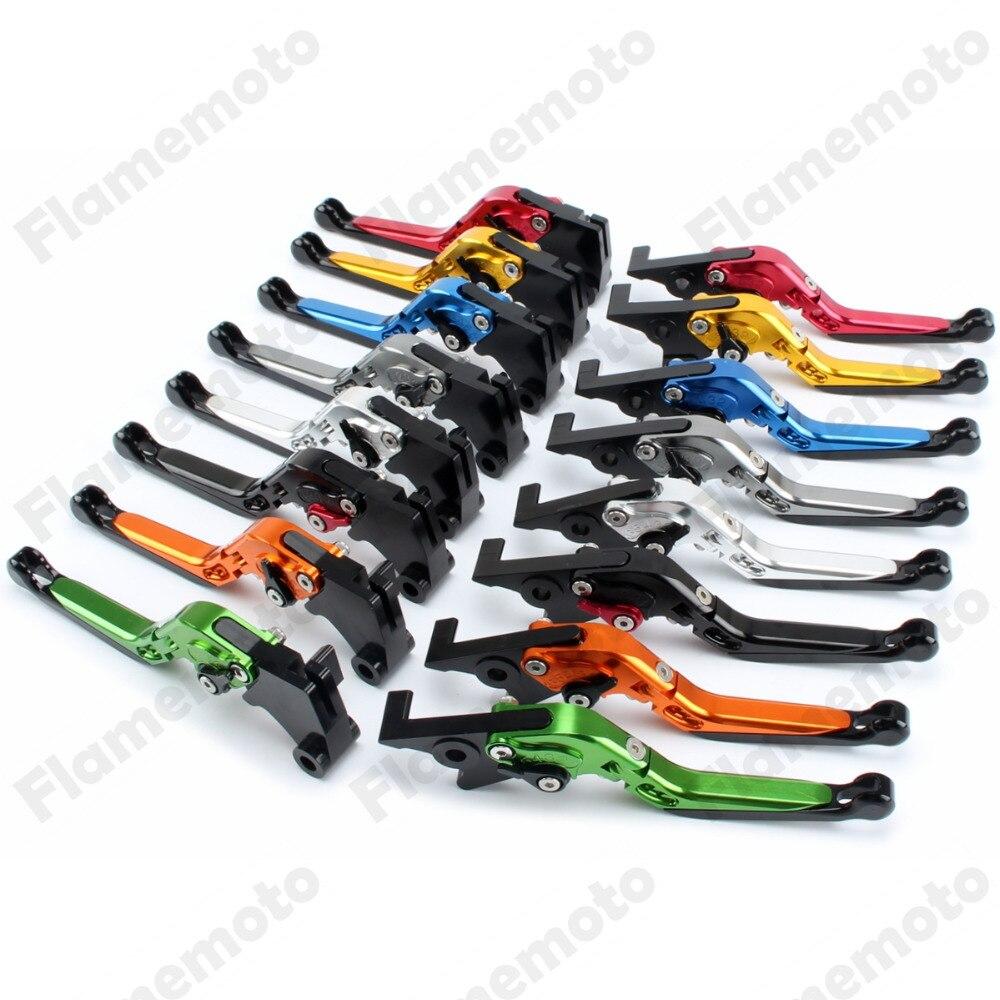 ФОТО New Extendable Folding CNC Brake Clutch Levers For Honda CB599 CB600 HORNET CBR900RR VTX1300 CB919 NC700S X CBR600 F2 F3 F4 F4i
