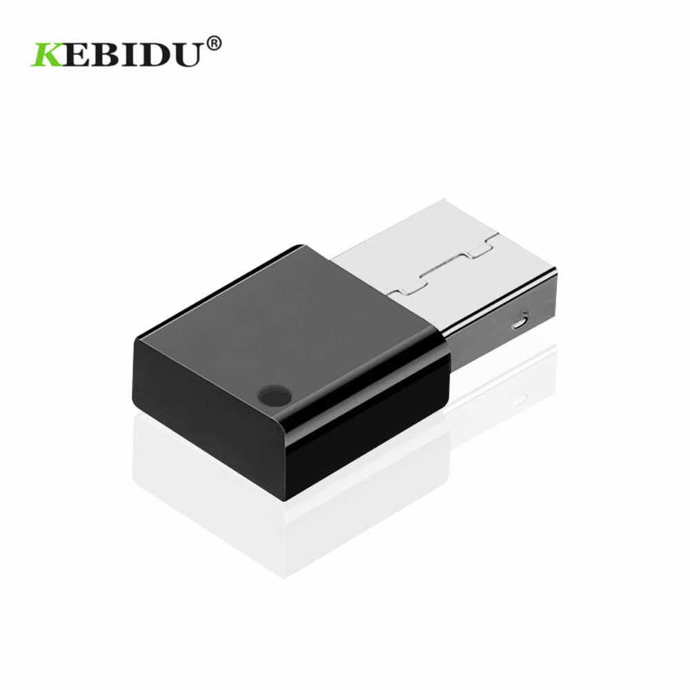 Kebidu Mini Draadloze Usb Bluetooth 5.0 Adapter Voor Autoradio Subwoofer Versterker Multimedia Audio Adapter Bluetooth Ontvanger