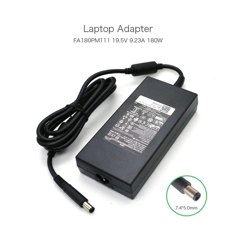 купить New Original 19.5V 9.23A 7.4*5.0mm 180W Laptop AC Adapter For Dell Alienware M14x M15x M17x DW5G3 0DW5G3 FA180PM111 DA180PM111 недорого