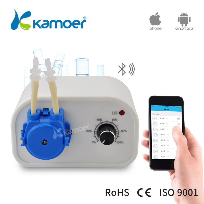 KAMOER Bluetooth Mini K peristaltic pump dc motor 24v with silicone tube controlled by IOS APPKAMOER Bluetooth Mini K peristaltic pump dc motor 24v with silicone tube controlled by IOS APP