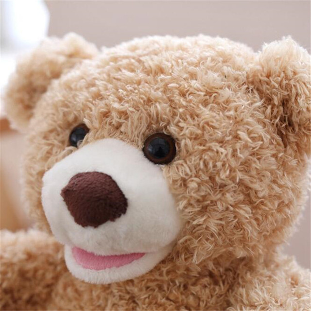 Drop Shipping 30cm Teddy Bear Hide And Seek Animated Stuffed Animal Talking Bear Toy Shy Bear Best Birthday Gift For Children Uncategorized Decoration Stuffed & Plush Toys Toys
