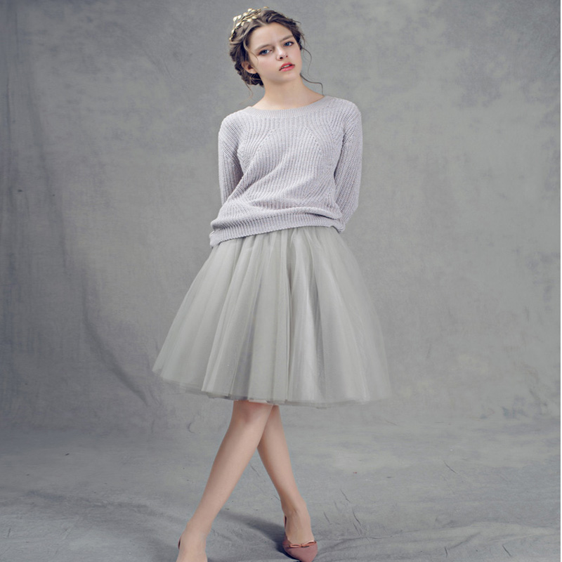 high waist women Tulle Skirt American Apparel High Waist Tutu Skirts Womens Lolita Petticoat 2017 Summer Faldas Saia Jupe