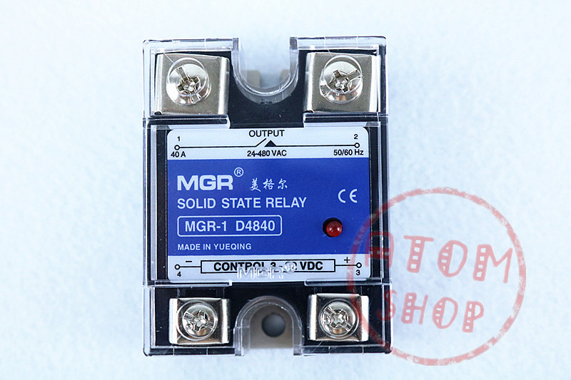 Mager SSR 40A DC-AC Solid state relay Quality Goods MGR-1 D4840 for samsung qx410 qx411 laptop keyboard with c shell