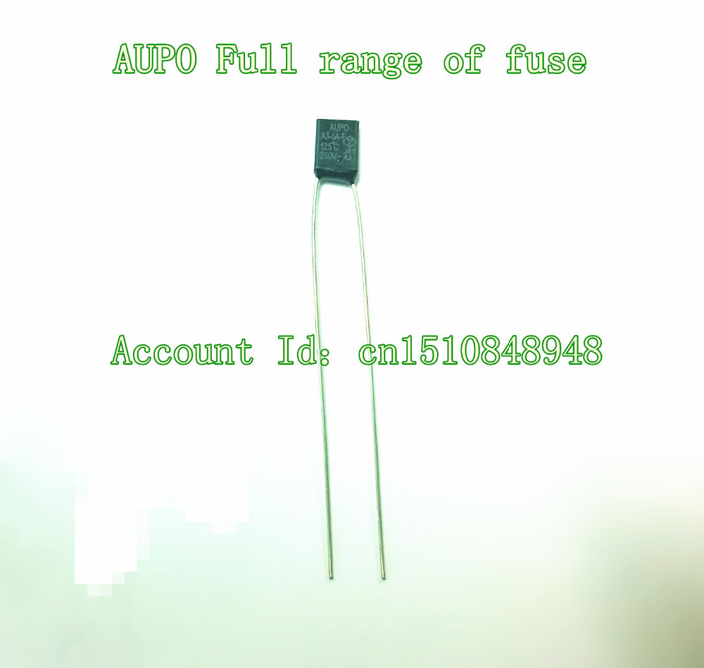 2 pcs A2-2A-F 115°C  AUPO Micro-Temperatursicherung  radial  115°C  2A  NEW #BP