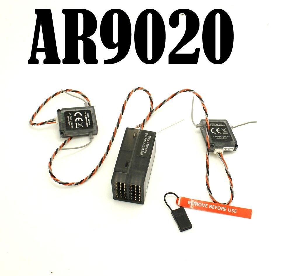 5PCS/lot 9CH AR9020 9-Channel Receiver with 2 satellites  Digital Spread Modulation X SPMAR9020