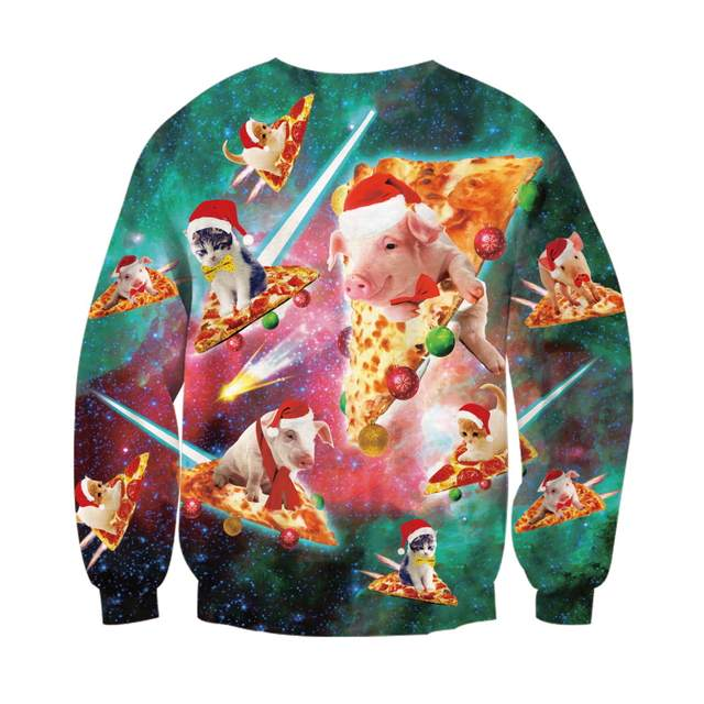 944953b16bbc placeholder Galaxy Space Christmas 3d Sweatshirts Cute Kitty Food Printed  Funny Hoodies Men Women Unisex Clothes Casual