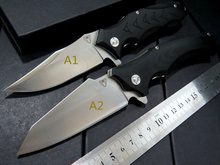 Quality Assured Snake head G10 folding knife Imitate Medford knife Use 9cr steel and 440 Hardness 59HRC ball bearing knives