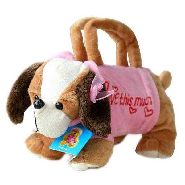 Mignon Main Doggie Forme Peluche Bag À Animal Filles Enfants En Sacs 7gY6ybf