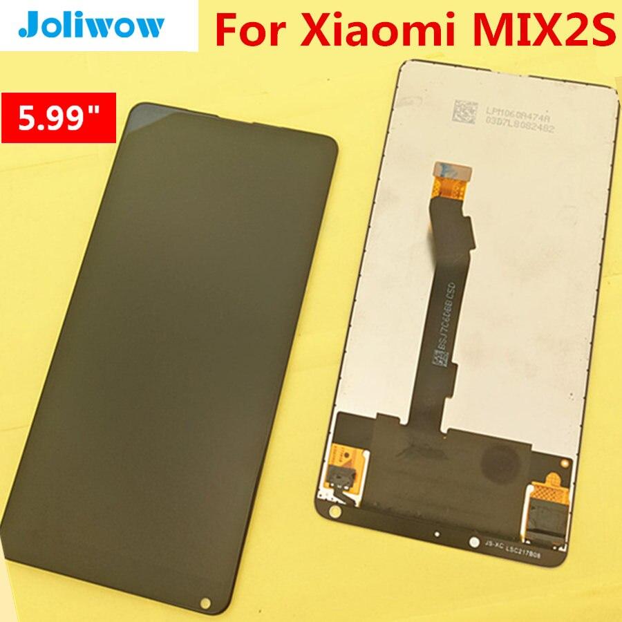 Тестирование! 5,99 Для Сяо mi x 2 s mi x2S ЖК-дисплей Дисплей + Сенсорный экран полный набор для замены цифрового преобразователя для mi x2 s