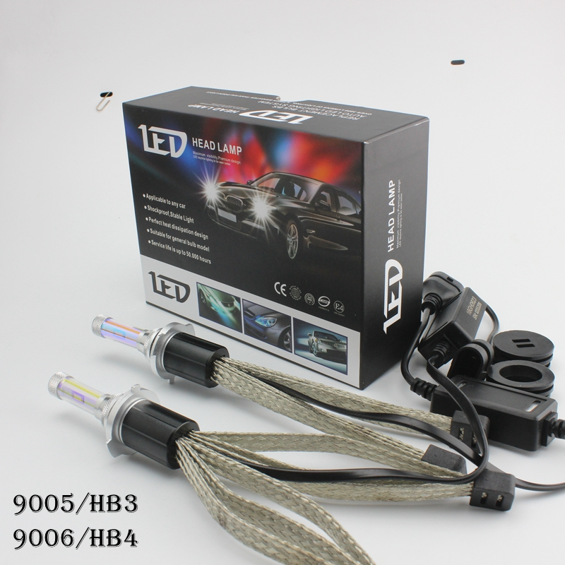 OCSION R4 HB3 LED Headlight Bulbs 30w 9005 Head Light 3600lm Yellow 3000k 4300k 5000k 6000k 8000k White HB4 9006 H10 9012 H7 H11
