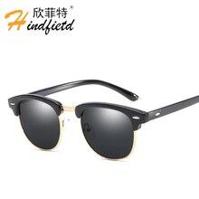 купить Fashion Sunglasses women Men Polarized Retro Eyeglasses UV400 Male Eyewear Sun Glasses for Man Vintage Oculos masculino Lunette по цене 417.28 рублей