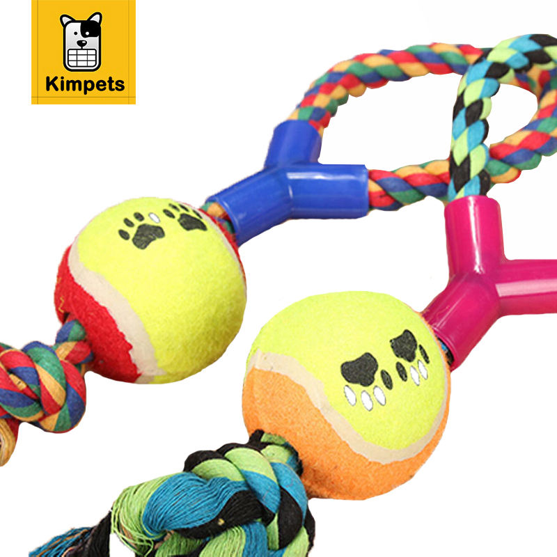 Best Chewing Toys for Dogs Ball with Rope Dog Toy-in Dog