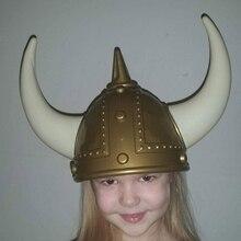Новинка викинг шлем костюм пиратки на Хэллоуин шляпа с рогами делает фестиваль вечерние странные шляпы